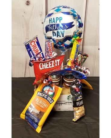 Coffee Bouquet Gift Basket