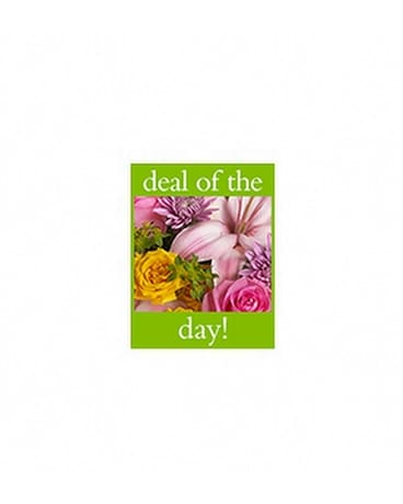 Deal of the Day Bouquet - by Buffy's Flowers & Gif Flower Arrangement