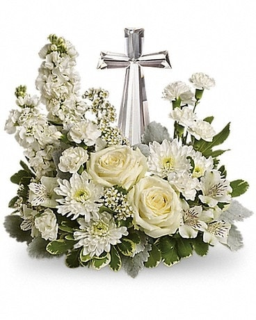 Teleflora's Divine Peace Bouquet Flower Arrangement