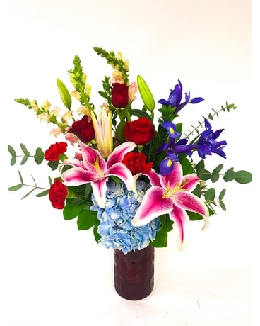 Deeply Loved Flower Arrangement