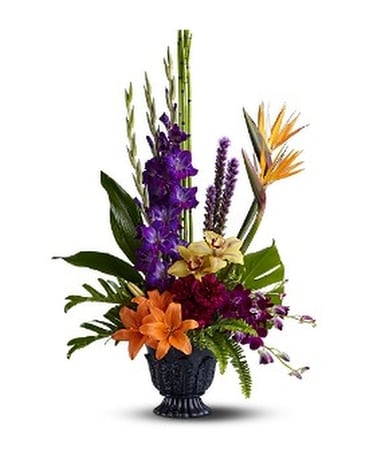 Teleflora's Paradise Blooms Flower Arrangement