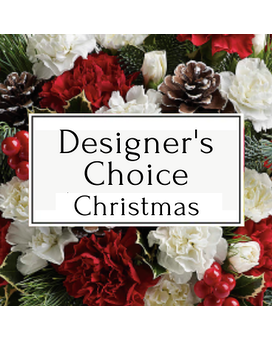 Designer's Choice Christmas Flower Arrangement