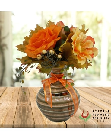 artificial fall flourish in indianapolis in steve s flowers and gifts