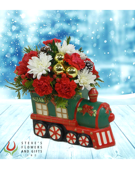 Magic of Christmas Flower Arrangement