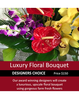 Designers Choice Luxury 150 Flower Arrangement