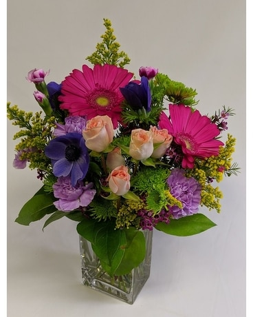 Bright Splash Bouquet Flower Arrangement
