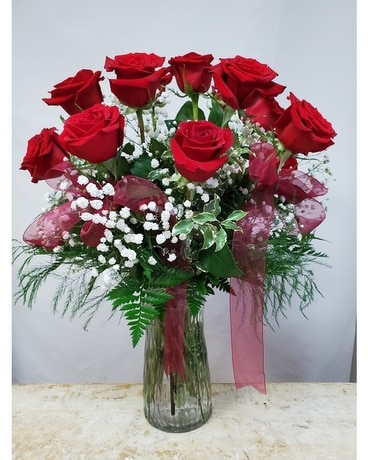 Romantic Roses By Flowers & Such