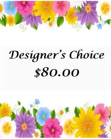 Designer's Choice-3 Flower Arrangement