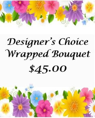 Designer's Choice Wrapped Bouquet-1
