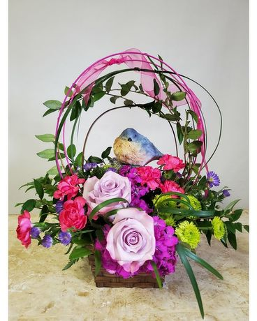 Flowers & Such Garden Wishes Flower Arrangement