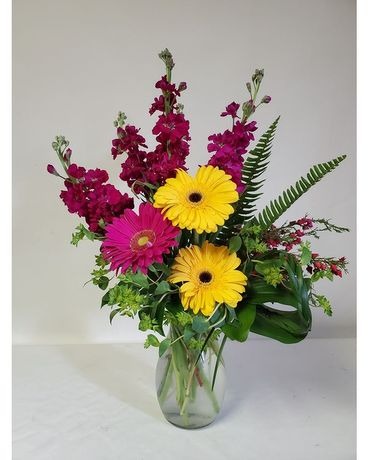 Flowers & Such Dashing Daisies Bouquet Flower Arrangement