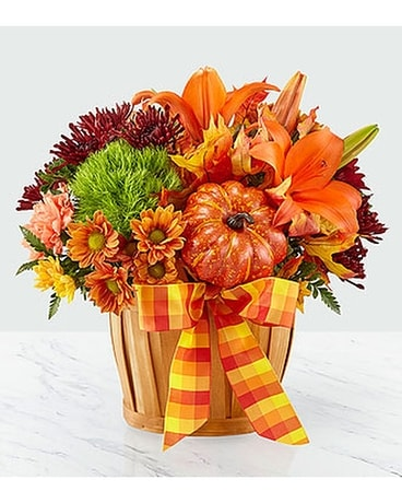 Autumn Celebration Basket Basket Arrangement