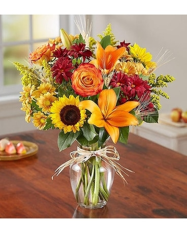 Fall Fields of Europe Flower Arrangement