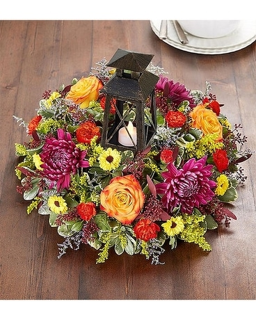Brilliant Autumn Centerpiece Centerpiece