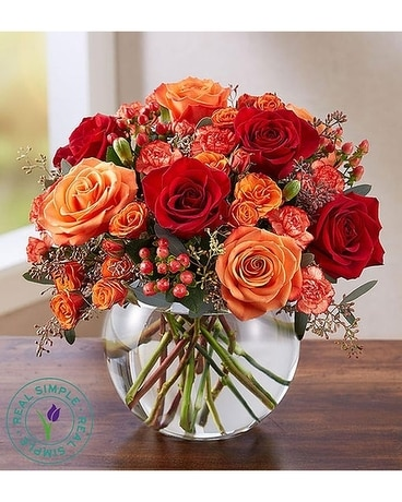 Autumn Medley Flower Arrangement