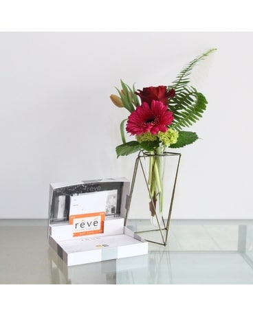 Reve Salon Gift Card + Flowers