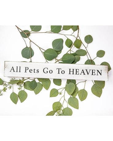 All Pets go to Heaven Flower Arrangement