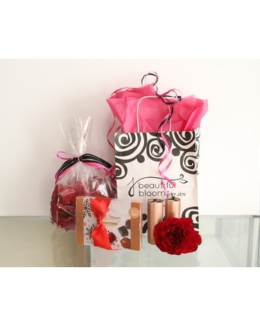 Romance Package Gift Basket