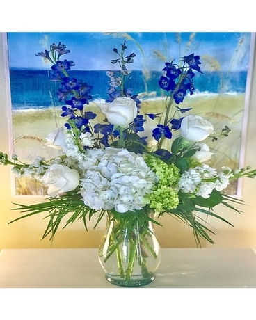Calm Memories Flower Arrangement
