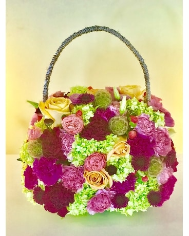 Custom Pocket book Flower Arrangement