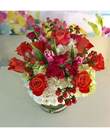 Blushing love Flower Arrangement