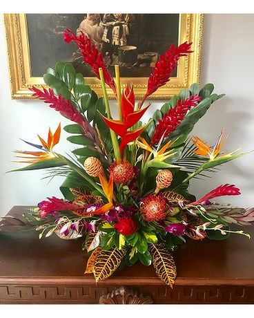 Tropical Distinctive Flower Arrangement