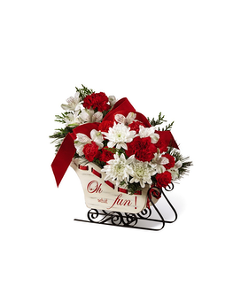 The FTD Holiday Traditions Flower Arrangement