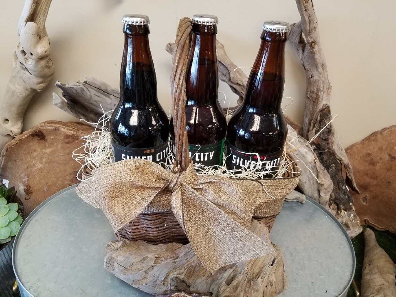 Silver City Beer Basket