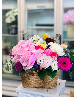 Pink Lady Flower Arrangement