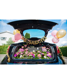 Trunk Floral Decoration Flower Arrangement