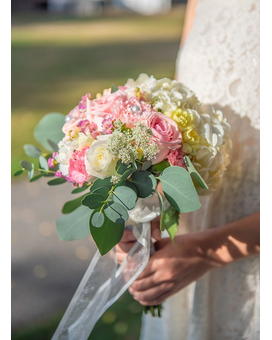 Sweetest Moment Bridal Bouquet Flower Arrangement