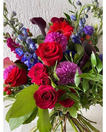 Jewel Tones Bouquet