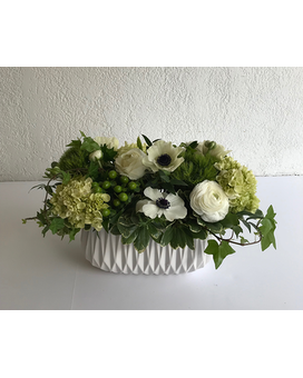 White Room Flower Arrangement