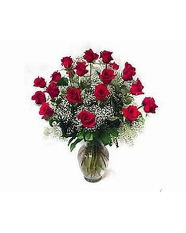 24 Roses Flower Arrangement