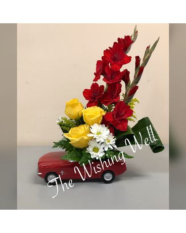 Mustang Sally Flower Arrangement