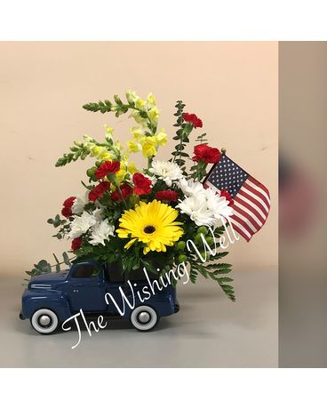 Freedom Ford Flower Arrangement