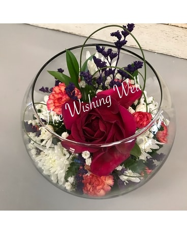 Captured Beauty Flower Arrangement