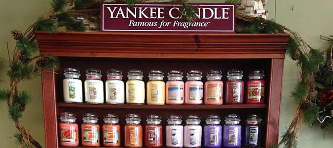 Yankee Candles at Always in Bloom in Coudersport PA