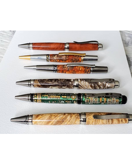 Exotic Wood Pens Flowers