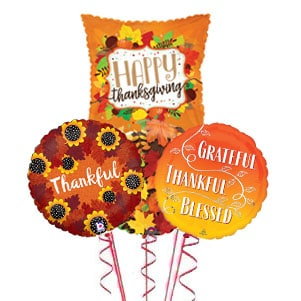 Thanksgiving Balloon Bouquet