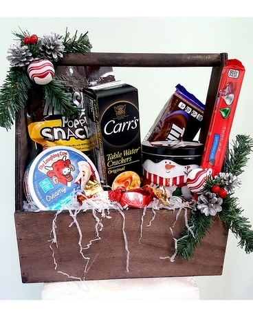 Holiday Happiness Basket Gift Basket