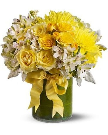 Lemon Aid Flower Arrangement