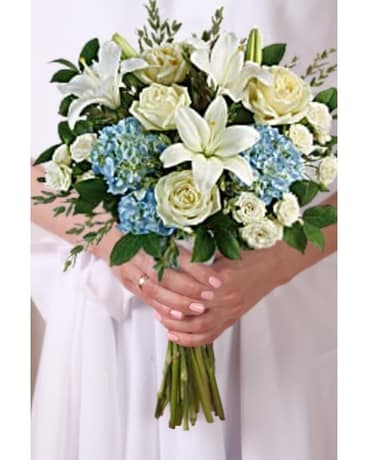 Something Blue Bridal Bouquet Bouquet