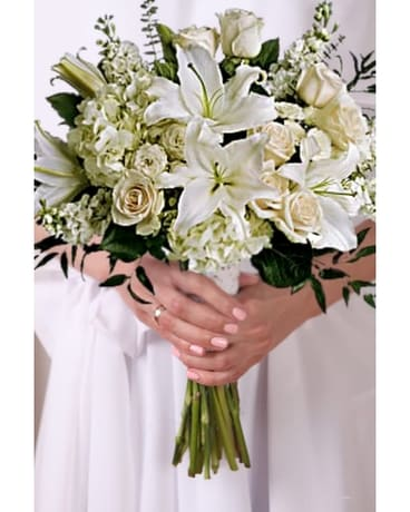 Dressed in White Bridal Bouquet Bouquet