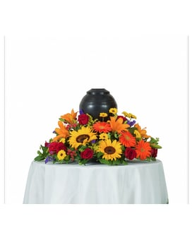 Tuscan Urn Arrangement Flower Arrangement