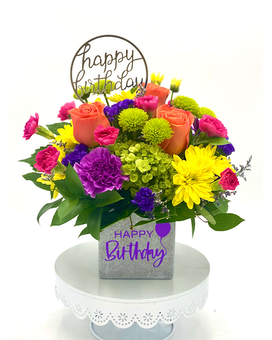 Birthday Surprise by Arrowhead Flower Arrangement