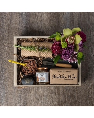 Bee Friendly Gift Crate