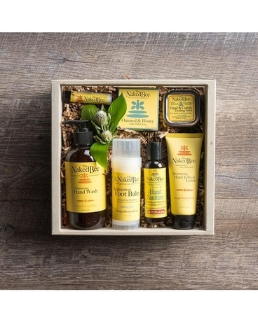 The Naked Bee Spa Crate