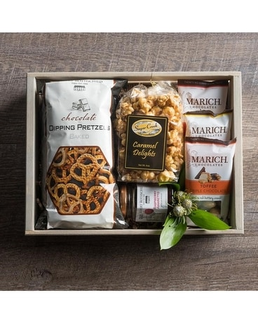 Sweet Bee Snack Crate