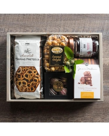 Bee Sweet Snack Crate